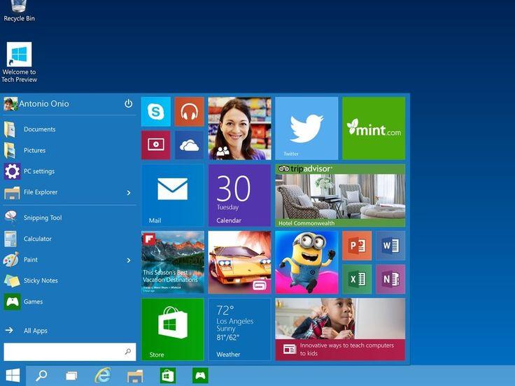 9 Fitur Baru di Windows 10 Preview Build 9860 (Video Review) | Techno Bali