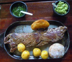 Cocina de Colombia serves true Colombian food and drinks.