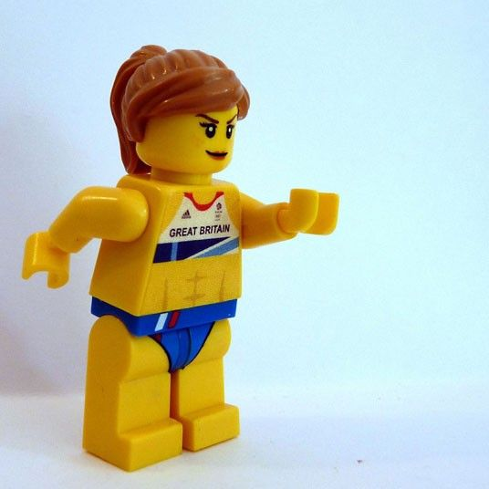 Jessica Ennis - a Lego homage to the Team GB Gold Medal Winners from London 2012!
