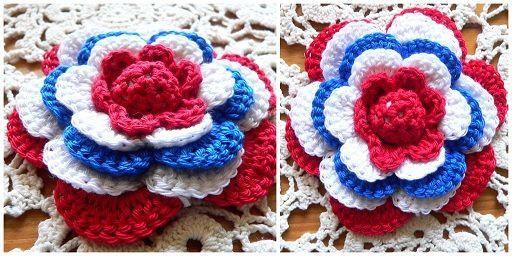 Koninginnedag bloem tutorial. Flower tutorial in Dutch in our national colors.