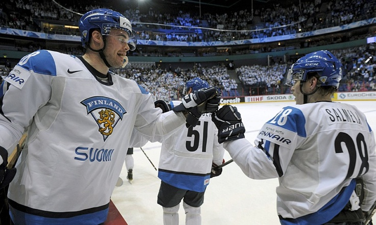 "FINLAND'S hockey team is known as ""Leijonat,"" viz., [the] Lions."