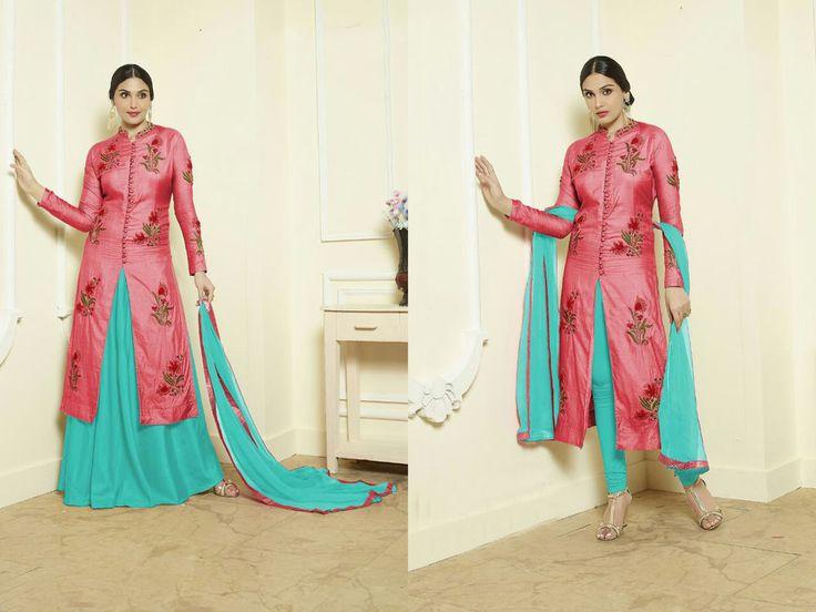 Indian Bollywood Ethnic Designer Anarkali Salwar kameez Suit &Traditional YRC1