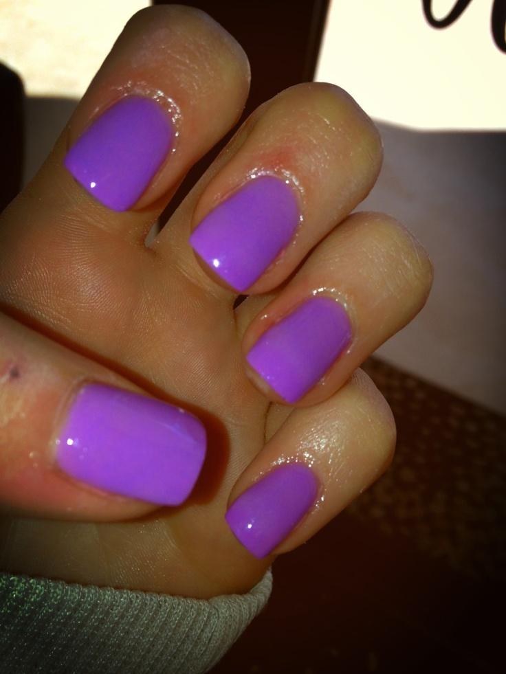 Neon Purple Nail Polish
