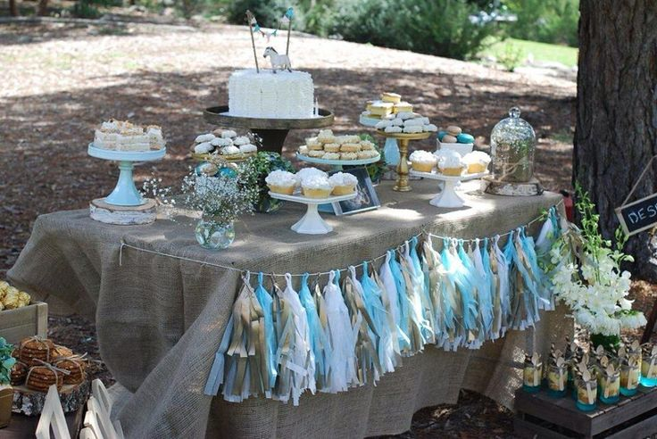 Gold, White & Aqua Dessert Buffet styled by Sweet Soirees (www.sweet-soirees.com.au)