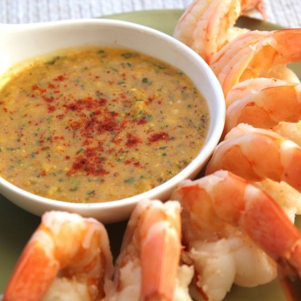 This Classic New Orleans Remoulade Sauce makes a delicious dip for chilled boiled shrimp. A great Mardi Gras party appetizer!
