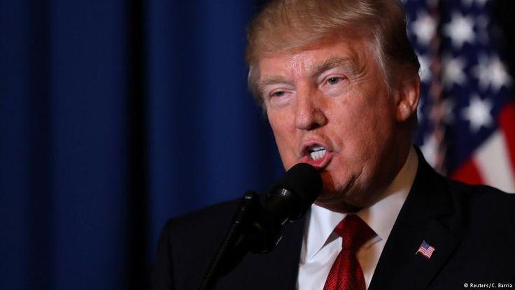 Trump rechtfertigt Angriff in Syrien | Aktuell Welt | DW.COM | 08.04.2017