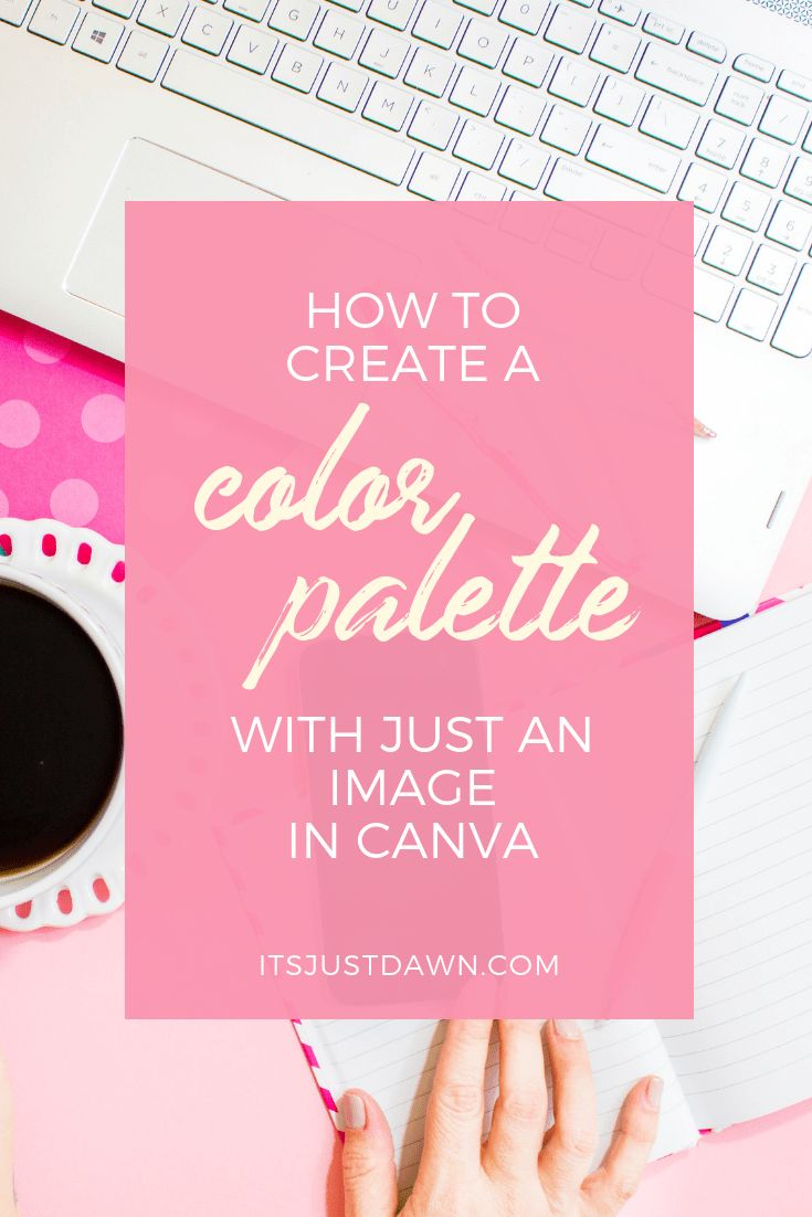 Color Palette Generator Using Just An Image In Canva ...