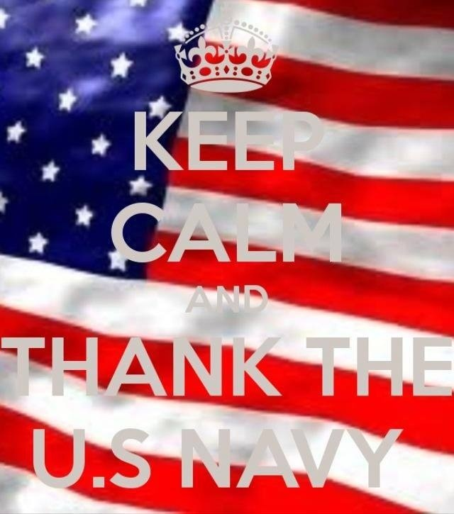 Thank the Navy
