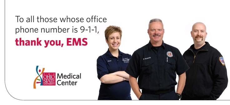 EMS Week Billboards - Center for EMS