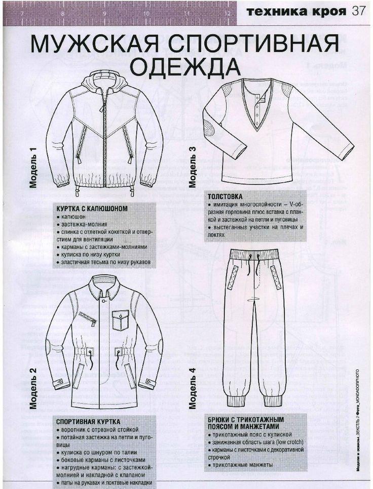 Шьем мужскую спортивную одежду. Обсуждение на LiveInternet - Российский Сервис Онлайн-Дневников