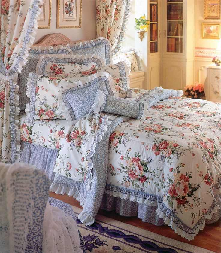 Fieldcrest King Size Bed Sheets: Belle Rive Bedding From The Waverly Collection, Made By