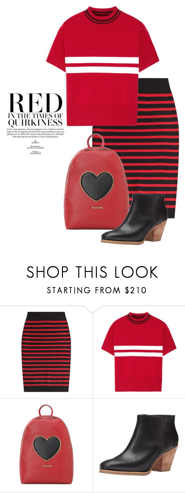 """Sep 5th (tfp) 2153"" by boxthoughts ❤ liked on Polyvore featuring Marc by Marc Jacobs, Tim Coppens, Love Moschino, Rachel Comey and tfp"