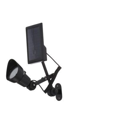 Moonrays Black Outdoor LED Solar-Powered Flagpole Light 92320 at The Home Depot - Mobile
