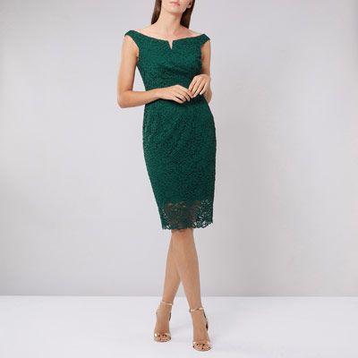 ZELDA LACE SHIFT DRESS