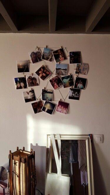 DIY épingler des photos Cadre photos
