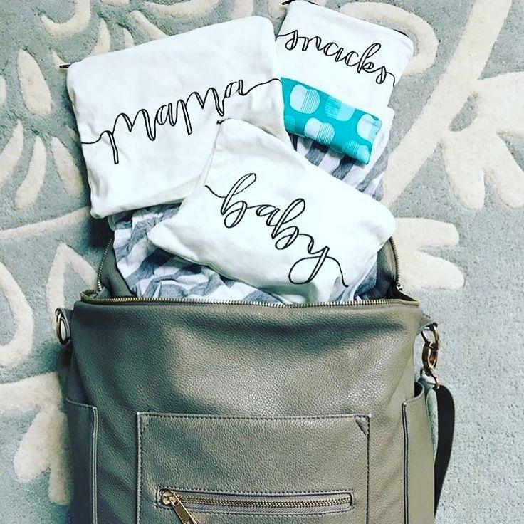 Diaper bag organization - Eden & Emeralds in a Fawn Design