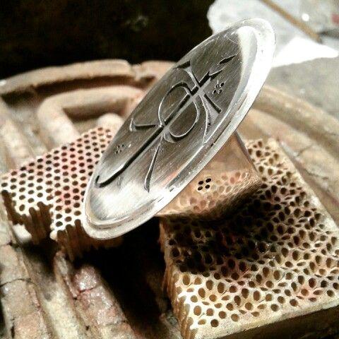 Tolkien' ring silver 950