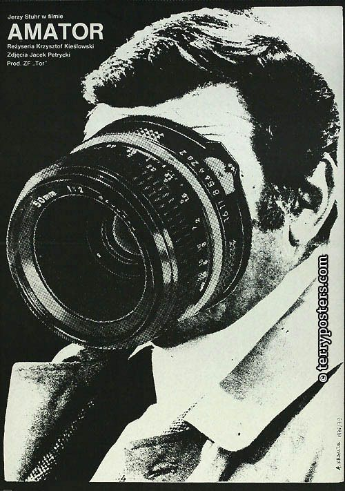 Camera Buff (Krzysztof Kieslowski, 1979) Polish design by Andrzej Krauze