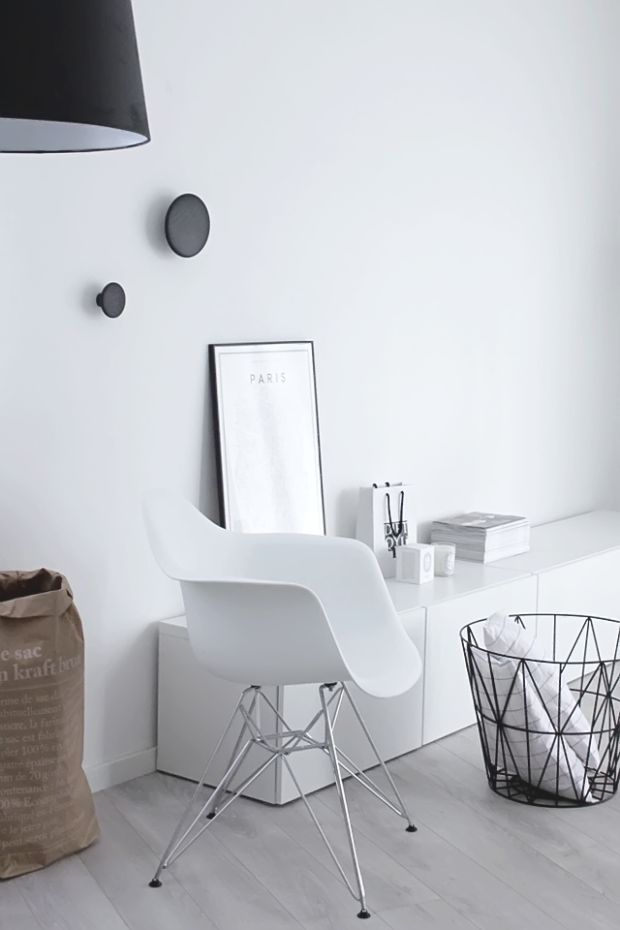 25 Examples Of Minimal Interior Design #monochrome #white #interiordesign