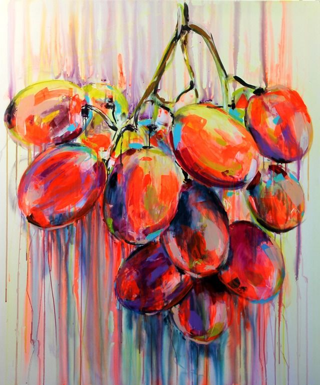 "Saatchi Art Artist: Yuliya Vladkovska; Acrylic 2012 Painting ""juicy"""
