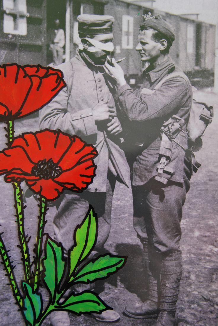 collage met poppy
