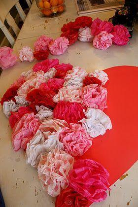 I don't like Valentines decor, but I DO like this.