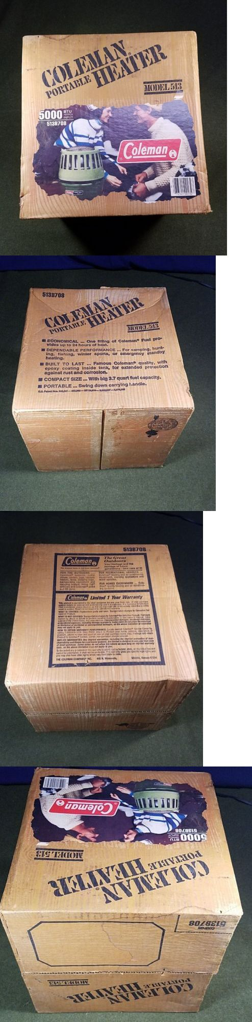 Generators and Heaters 16039: New #513 Coleman Portable Gas Catalytic Heater 5000 Btu Camping Hunting Fishing -> BUY IT NOW ONLY: $69.99 on eBay!