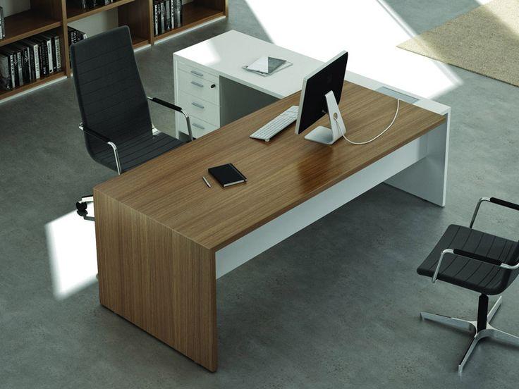 bureau de direction sur retour caisson with caisson alinea. Black Bedroom Furniture Sets. Home Design Ideas