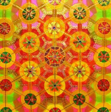 "Saatchi Art Artist Veronika Adlerová; Painting, ""Magic"" #art"