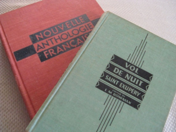 lot of 2 books in french ANTHOLOGIES and VOL de by mudintheUSA, $9.50