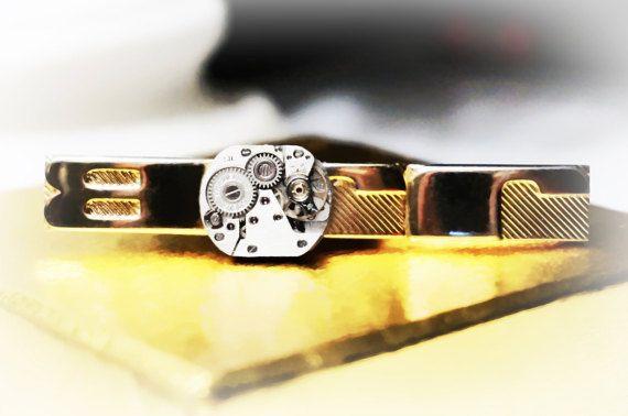 Стимпанк БДСМ зажим для галстука подарок мужчине от SteampunkBDSM