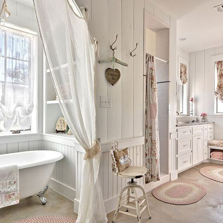 10 Easy Shabby Chic Style Bathroom Decor Ideas To Try For Your Bathroom  |  Shabby Chic Bathroom Designs no. 1109 | #shabbychic #shabby_chic_bathroom – PennyJ Teemsa Home Remodeling Inc.