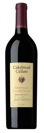 Cakebread Vine Hill Ranch Cabernet Sauvignon 2009 - I always wanted to try a Cakebread, but $$$$$.