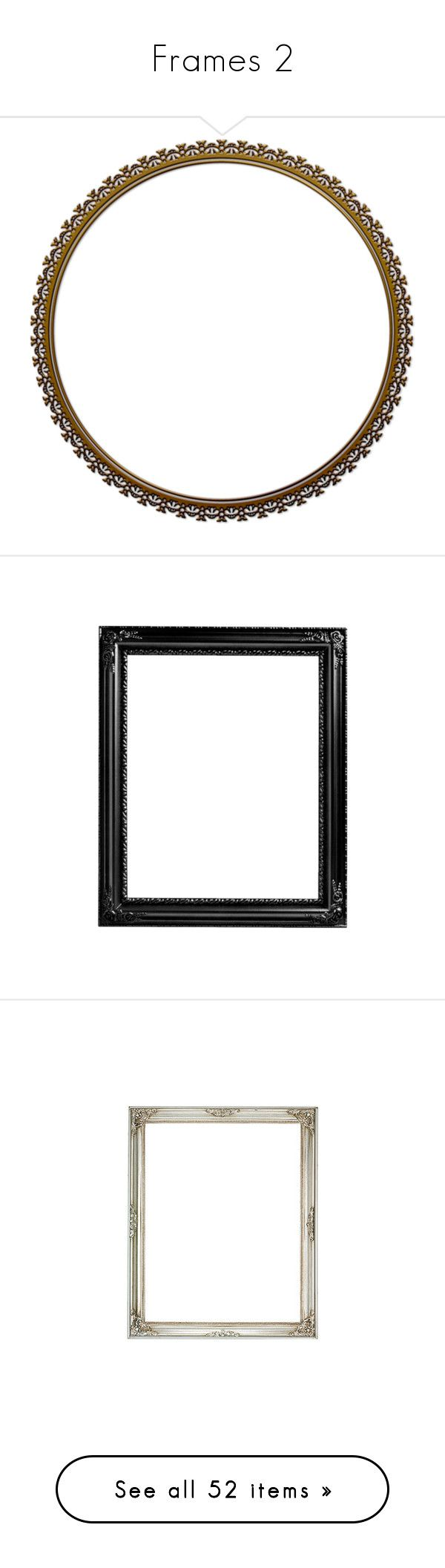 """""""Frames 2"""" by ace-in-space ❤ liked on Polyvore featuring frames, circles, round frames, backgrounds, frames & borders, round, borders, circular, picture frame and fillers"""