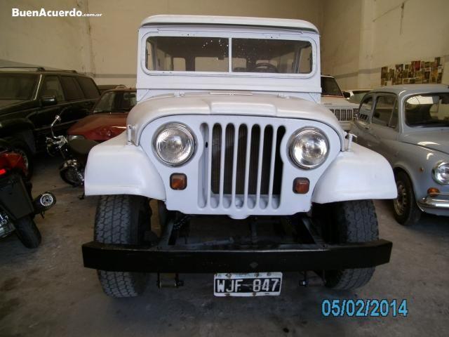 Jeep Ika 58 Largo Carrozado