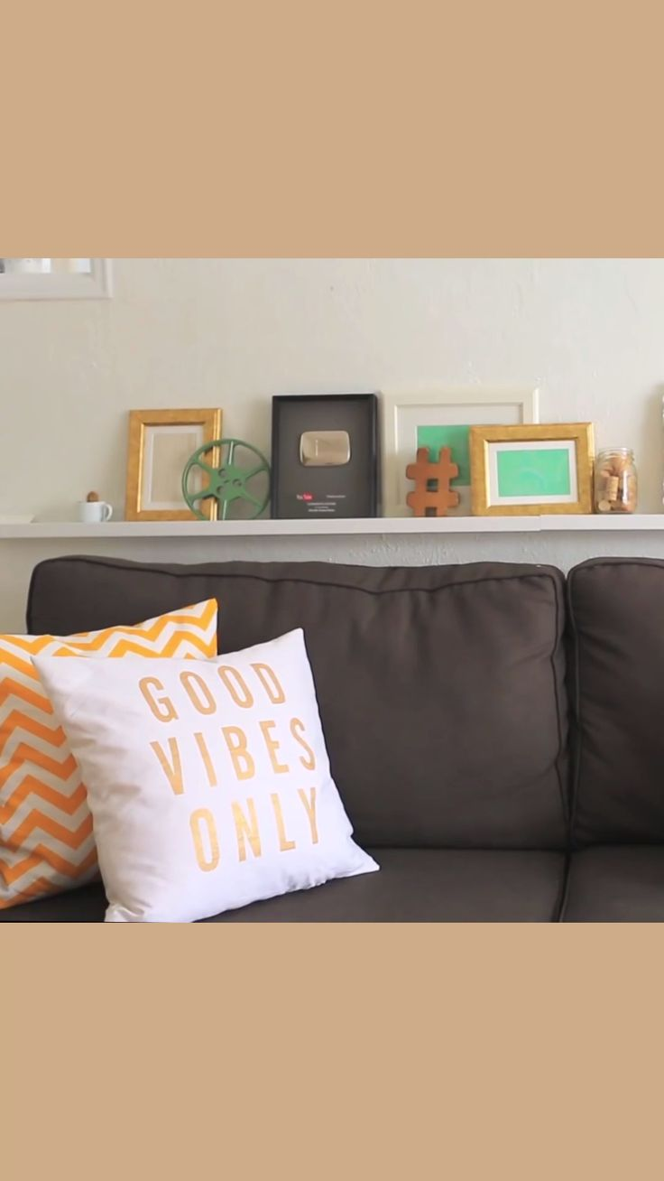 DIY Removable Pillow Case - Grab some fabric and a pillow and voila!  It's that easy!