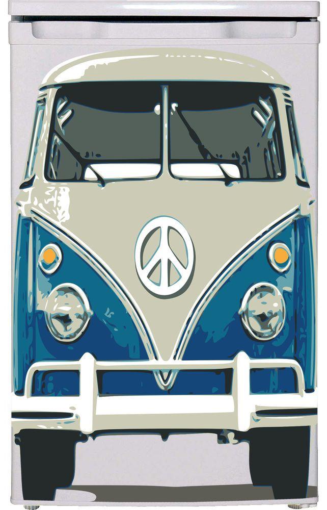 VW Camper Vinyl refrigerator decals , Fridge wraps UK, Vinyl refrigerator covers #Unbranded #Modern