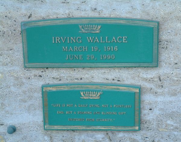 Irving Wallace Gravesite