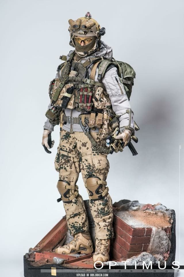 1//6 Scale War of Order Vol 2 The Perfect Master Dark Multicam Uniform