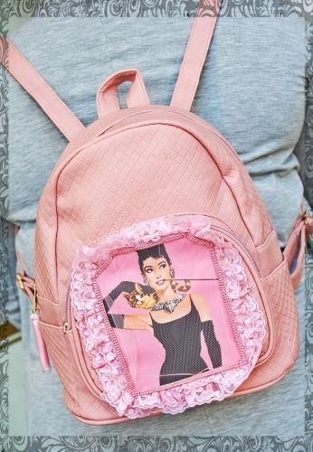 Χειροποίητο σακίδιο πλάτης με την αγαπημένη σας Audrey.  http://handmadecollectionqueens.com/γυναικειο-σακιδιο-πλατης-με-την-αγαπημενη-σας-audrey  #handmade #fashion #backpack #accessories #women #storiesforqueens