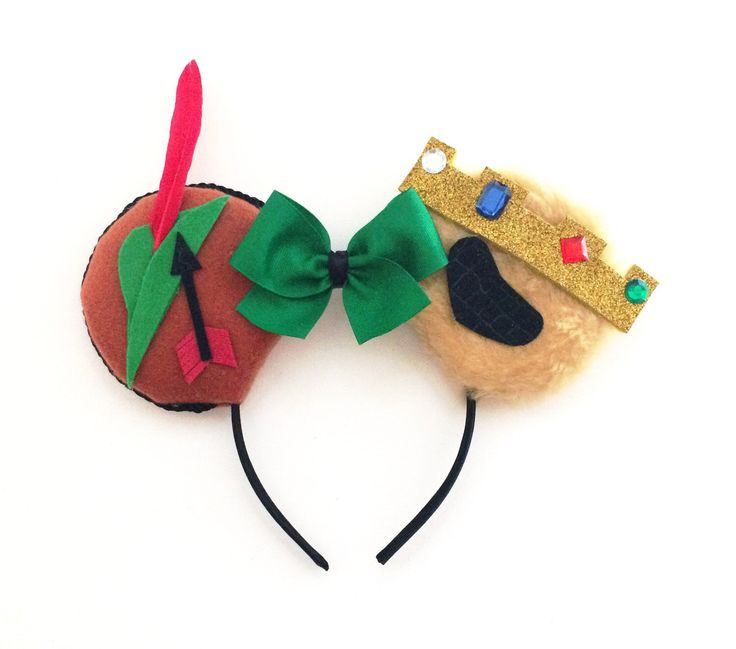 A personal favorite from my Etsy shop https://www.etsy.com/listing/249044077/robin-hood-ears-disney-inspired-robin