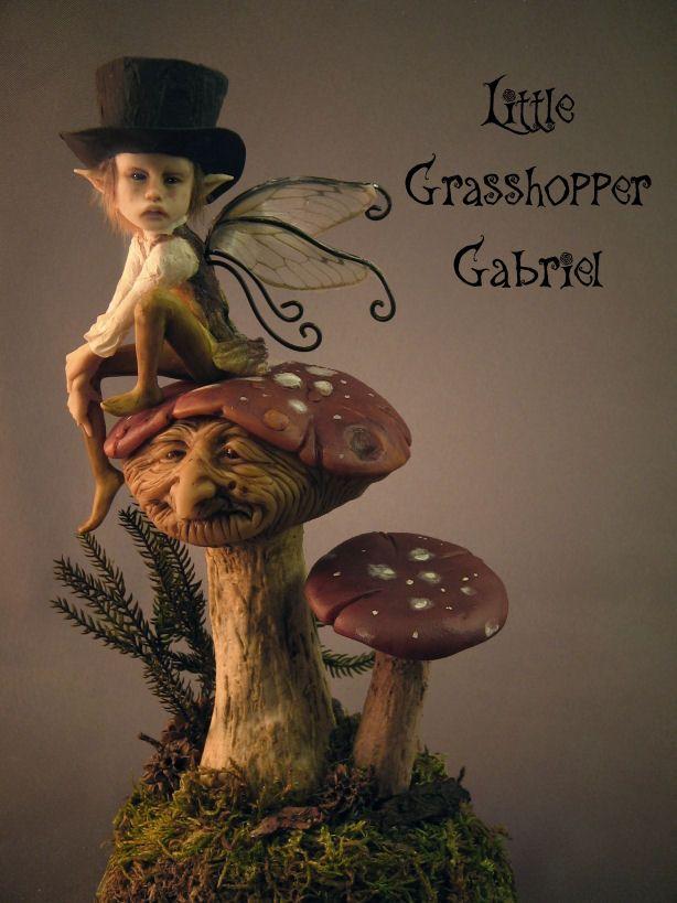 Gabriel the Grasshopper The Goblin Ball: Ember Rule, Melbourne, Australia. 14th June 2014 www.thegoblinball.com