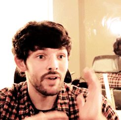 Colin Morgan, can I just keep you?