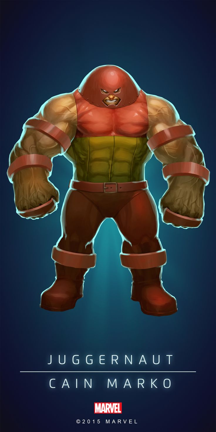 I've chosen to use the juggernaut's name but in Latin because I think it sounds quite cool and scary.