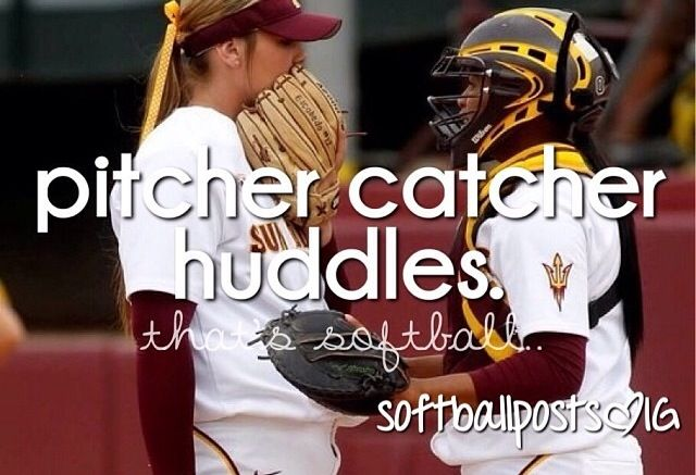 Making fun of the batter up and knowing what pitch to throw<3