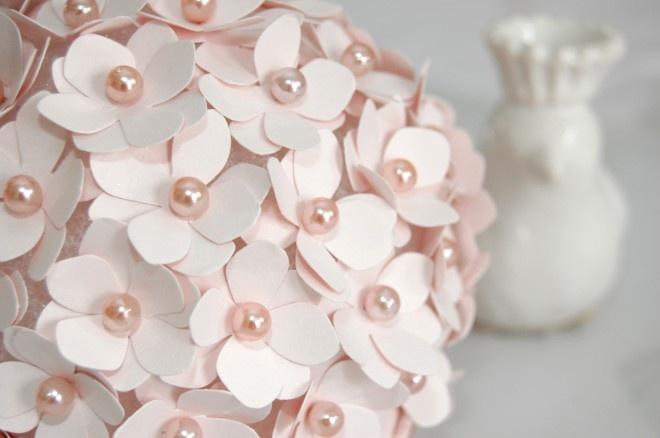 Pomander Flower Ball. Adorable idea!!