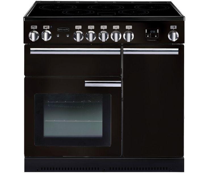 Rangemaster Professional Plus 90 Induction PROP90EIGB/C Freestanding Electric Range Cooker - Black