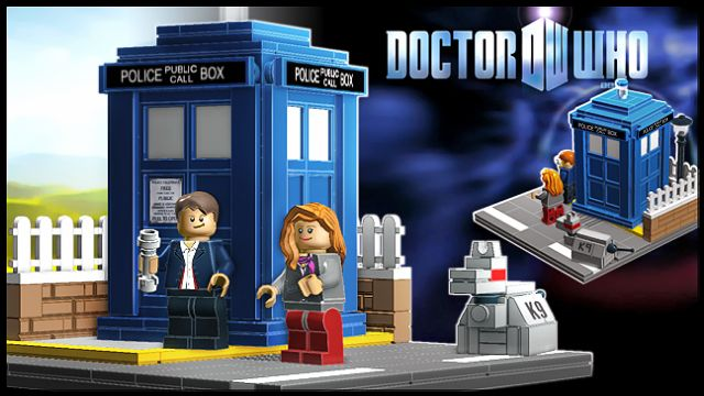 #LEGO Dr. Who on Cuusoo.  Hmm.  I think this is going to get a lot of votes--what do you think?