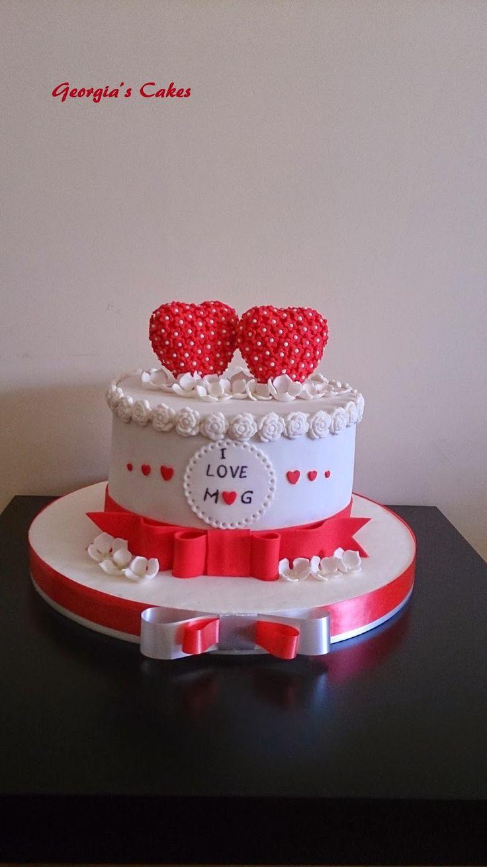 georgia´s cakes: MI SEPTIMO ANIVERSARIO DE BODA