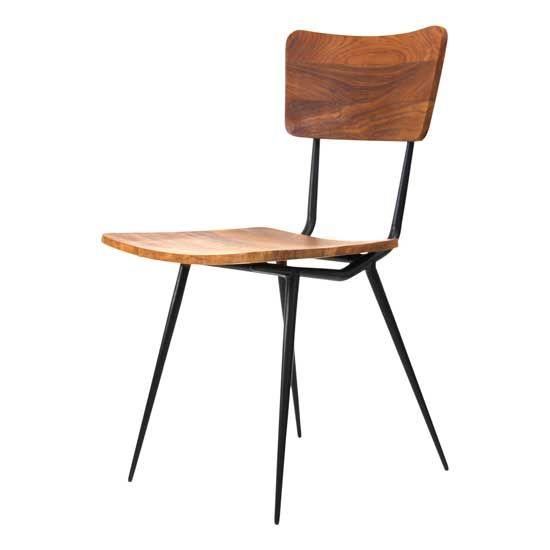 GCH331 Mols side Chair Black